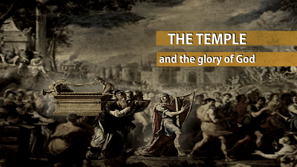 The Temple and the Glory of God Image
