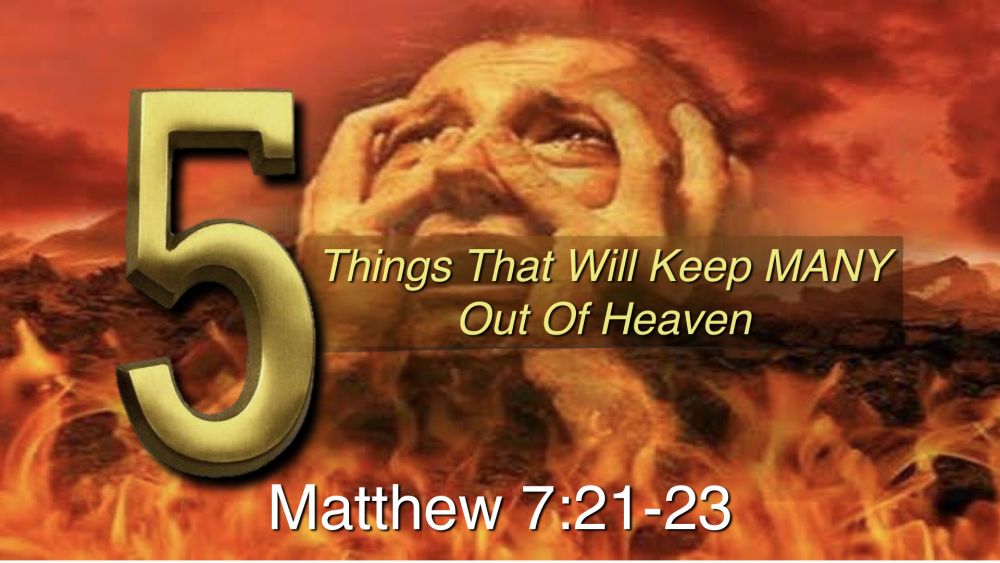5_Things_That_Will_Keep_Many_Out_of_Heaven Image
