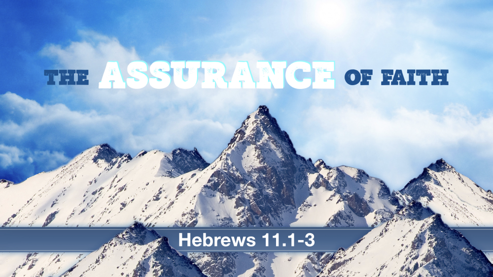 The Assurance of Faith Image