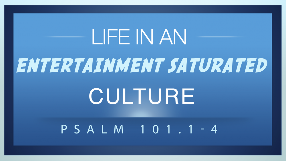 Life In An Entertainment Saturated Culture Image