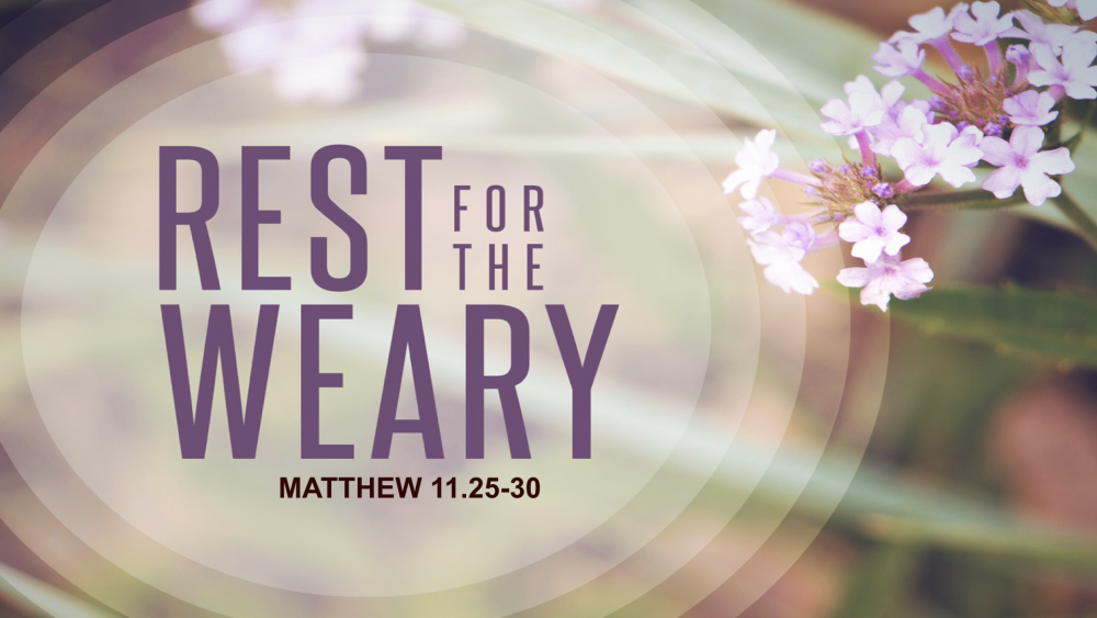 Jesus Calls Us - Rest For The Weary
