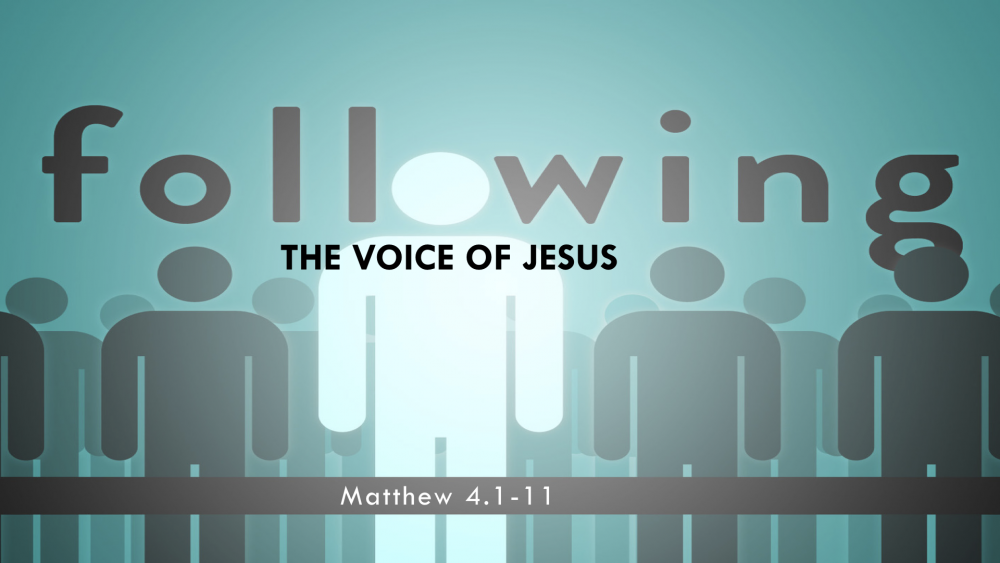 Following the Voice of Jesus Image