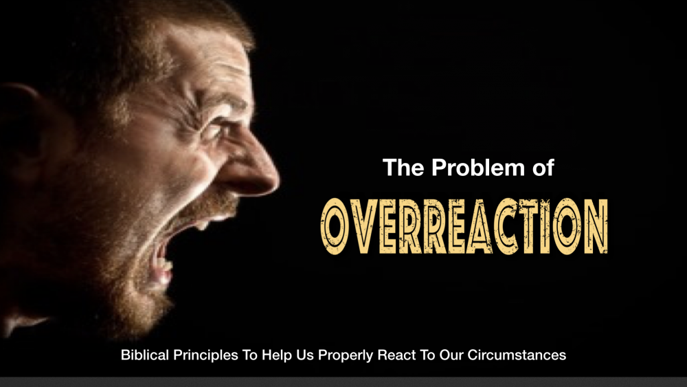 The Problem of Overreaction