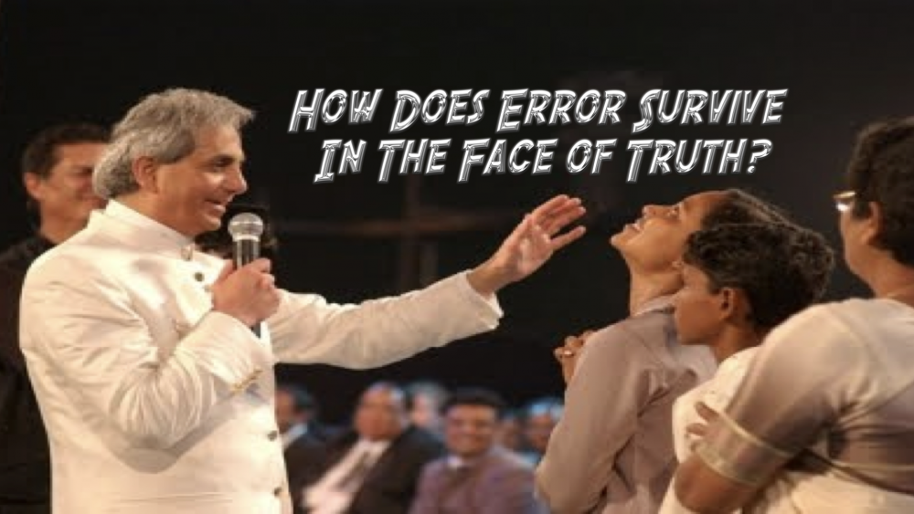 How Does Error Survive in the Face of Truth