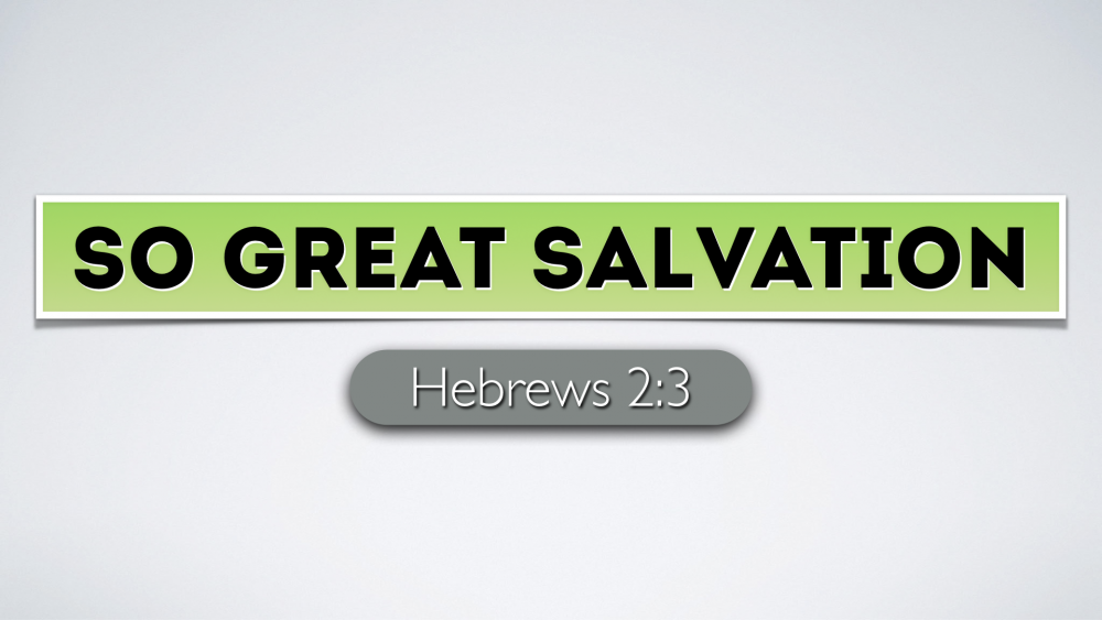 So Great Salvation Image