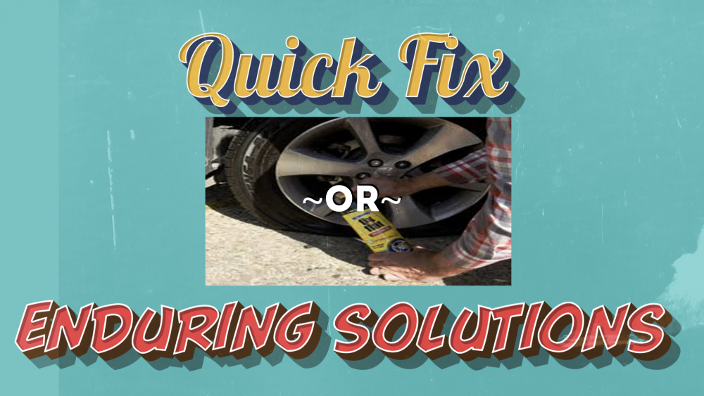 Quick Fixes or Enduring Solutions