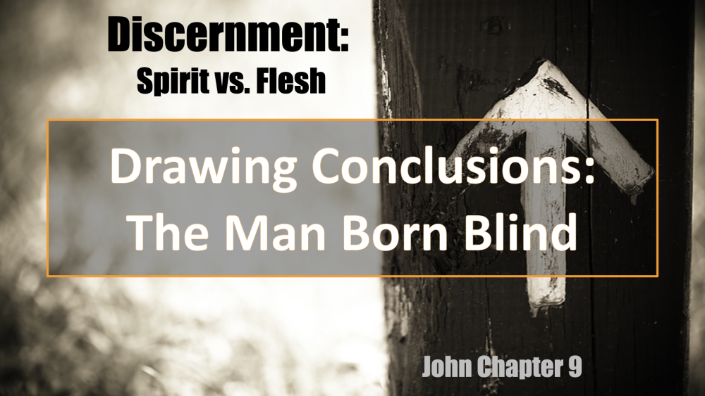 Discernment Spirit vs Flesh Image