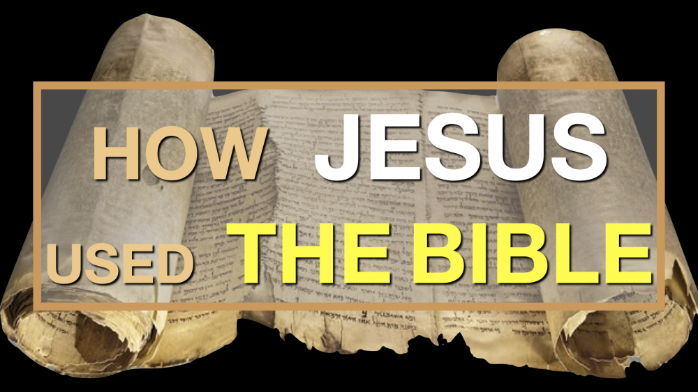 How Jesus Used the Bible Image