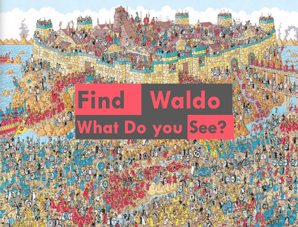 Find Waldo, What Do You See? Image