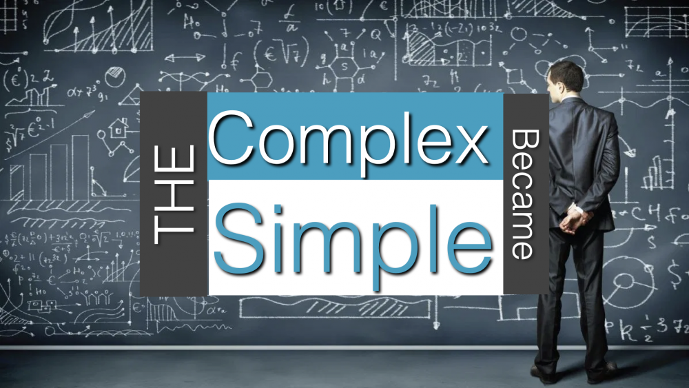 The Complex Became Simple Image