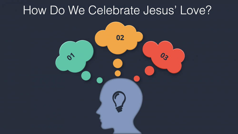 How Do We Celebrate Jesus' Love? Image