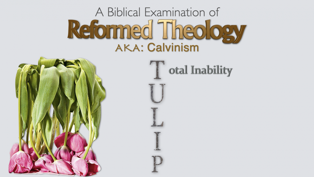 Reformed Theology - Part 2 - Total Depravity