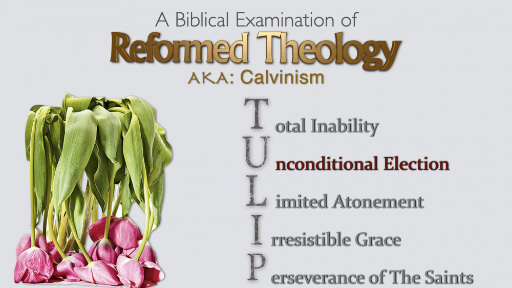 Reformed Theology - Part 3 - Unconditional Election