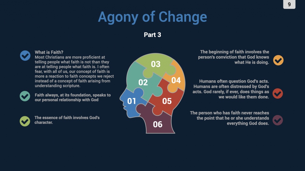 The Agony of Change - Part 3